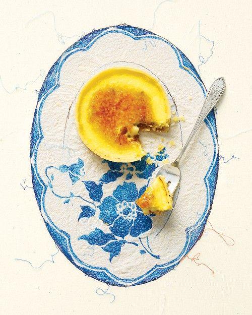 Orange-Almond Creme Brulee Tartlets