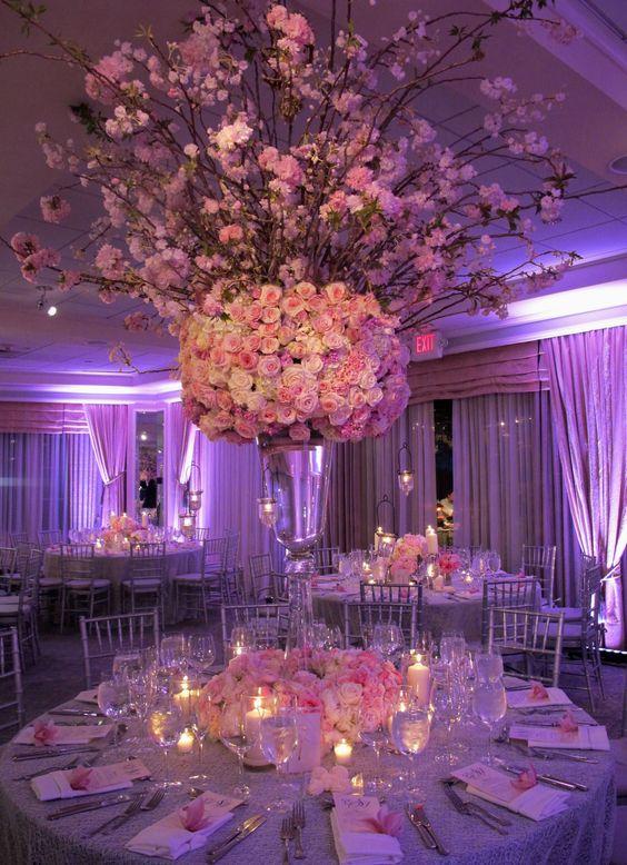 The tall centerpiece design | Wedding | Pinterest | The o'jays, Kind ...