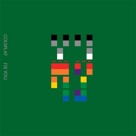 Coldplay – Fix You (single cover art)