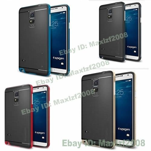 New Hybrid Hard Bumper Soft Rubber Case Cover Skin For Samsung GALAXY Note 4