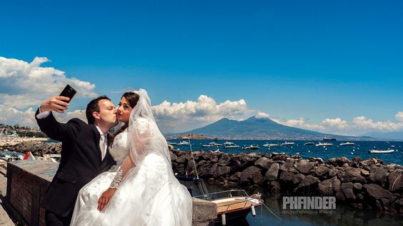 A kiss and a selfie in a Wedding day ... by Diego Di Donato - Photo 170435353 - 500px