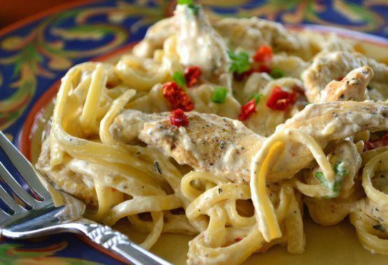 Cremosa de pollo cajún Pasta Receta - Food.com
