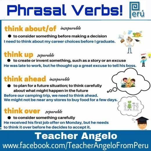Phrasal Verbs  Phrasal Verbs    English Language And