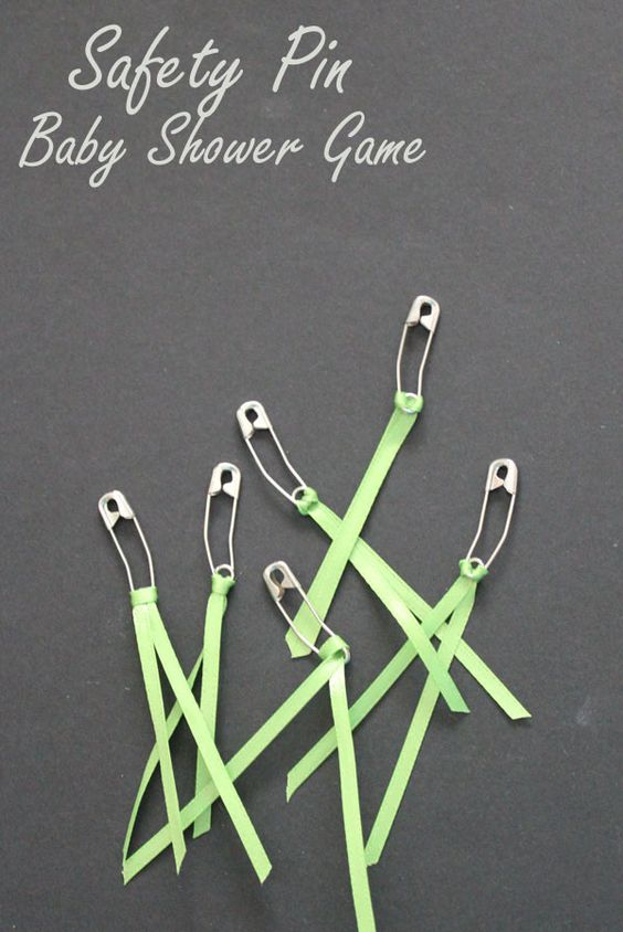 safety pins easy baby shower games shower games diapers baby games