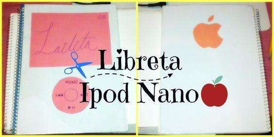 ♬♬♬ Cómo forrar tu Libreta rápidamente como un Ipod Nano ♬♬♬