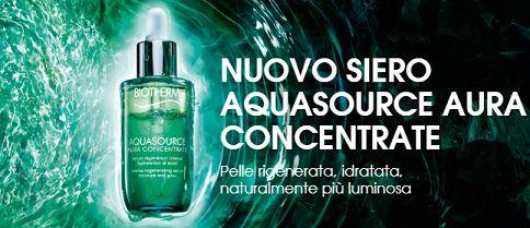 Campione gratuito Biotherm Aquasource Aura Concentrate