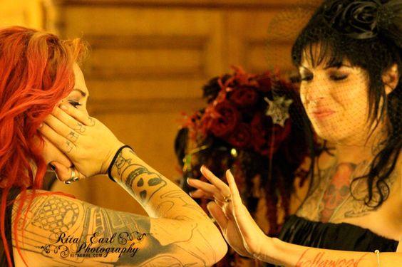Tania and Mariah...