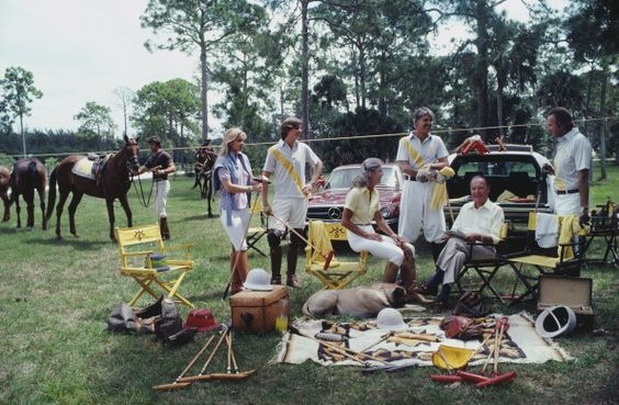 Polo  Party (© Slim Aarons)