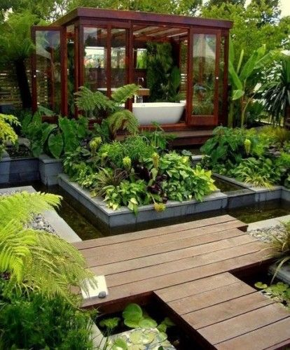 garden tub.  Creating intimate places for dreams and alone time is a sure way to stay balanced in a fast world.