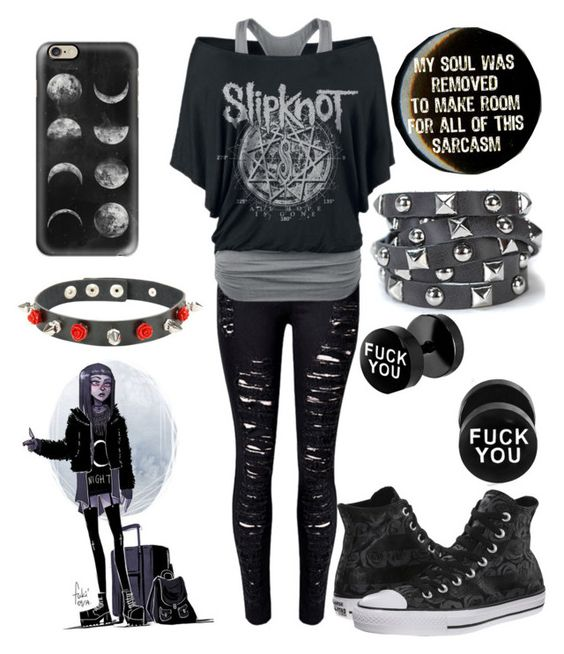 Sarcastic Emo B!tch by the-uninportant-emo on Polyvore ...