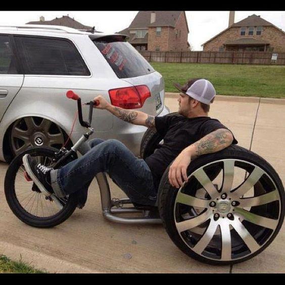 that 39 s a man tricycle bike a zilla pinterest int rieur voitures et motos et grands enfants. Black Bedroom Furniture Sets. Home Design Ideas