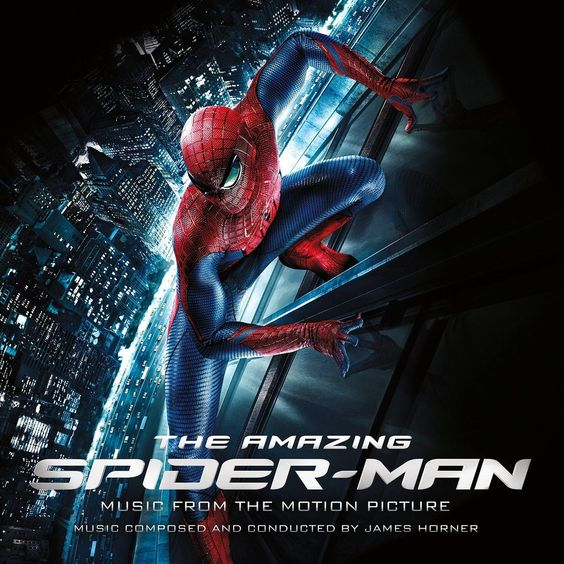 James Horner Amazing Spiderman: Music from the Original Motion Picture on Vinyl 2LP