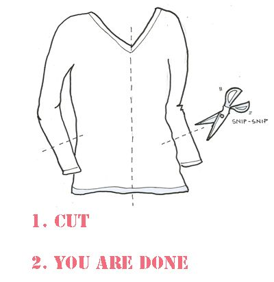 summer cardi from a t-shirt (from angry chicken): Cardi Diy, Diy Craft, Cardigan Duh