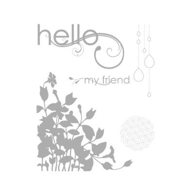 My Friend - Clear-Mount Stamp Set - by Stampin' Up!