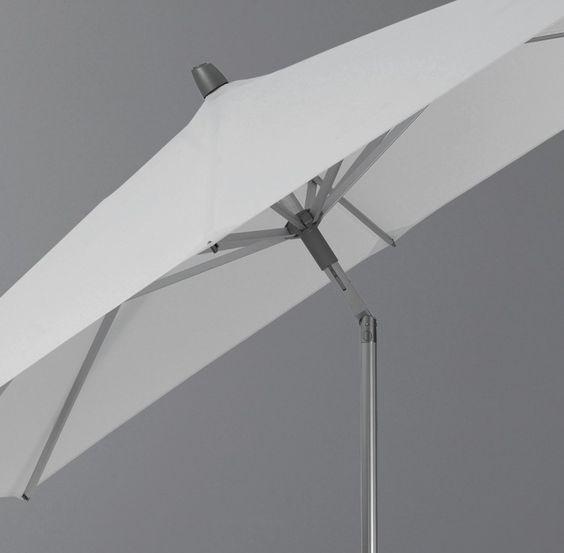 Sonnenschirm Alu-Twist easy rechteckig 210 x 150 cm von Glatz