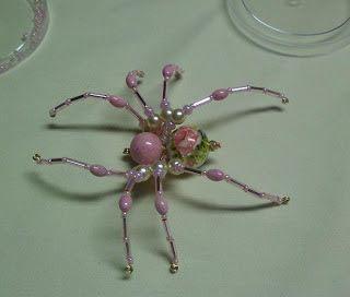 Pattern bijoux: Beaded Spider