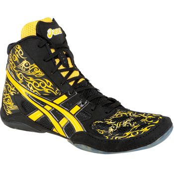 asics split second 9 le camouflage wrestling shoes