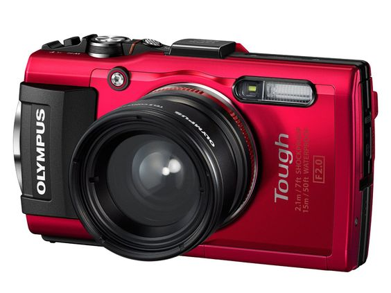 Die beste Outdoor-Kamera: Olympus Stylus Tough TG-4