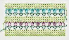 Afbeeldingsresultaat voor patroon tulpenrand