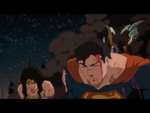 Justice League Defeated Justice League Dark Apokolips War Youtube Justice League Dark Justice League Animated Movies