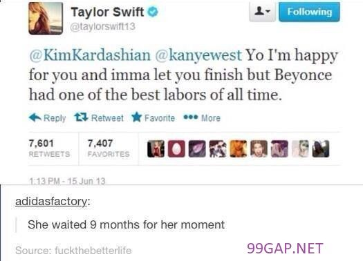 Hilarious Tweets About Taylorswift Vs Kanyewest Kimkardashian Beyonce Taylor Swift Funny Taylor Taylor Swift