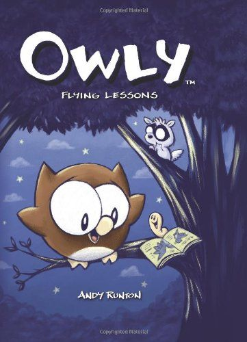 Owly, Vol. 3: Flying Lessons (v. 3) by Andy Runton http://www.amazon.com/dp/1891830767/ref=cm_sw_r_pi_dp_VON4tb139DZQV: