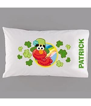 "Personal Creations #Gifts  #Personalizedgifts Personalized Elmo St Patrick's Pillowcase by Personal Creations. $14.99. A Personal Creations Exclusive! Our Standard Size Pillowcase Is Personalized With Any Name, Up To 10 Characters. Made Of A Soft, Cotton/Poly Blend Fabric. Machine Washable. Measures 20"" X 31"". - Great Personalized Gifts via- http://www.AmericasMall.com/personalcreations-gifts"