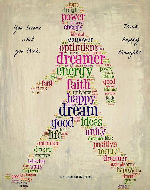 be more optimistic!