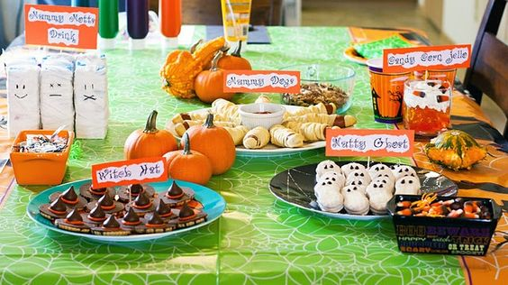 great ideas for kids Halloween party