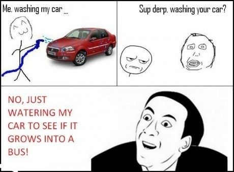 you-dont-say-meme-washing-my-car