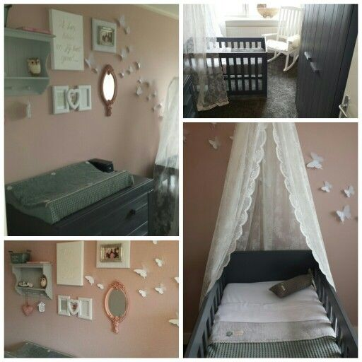 babykamer groen roze ~ lactate for ., Deco ideeën