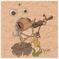 Laichsonate gespielt auf Geige by Themrock