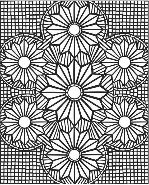 Advanced Mosaic Coloring Pages : Pinterest the world s catalog of ideas