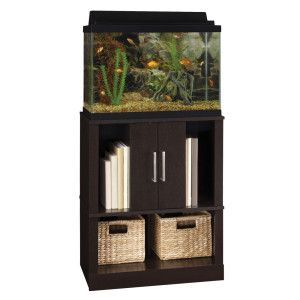 Tops cabinets and aquarium stand on pinterest for Petsmart fish tank stand