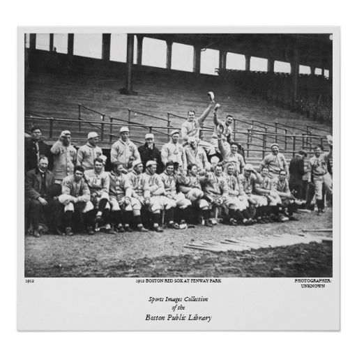 1912 Boston Red Sox at Fenway Park Poster