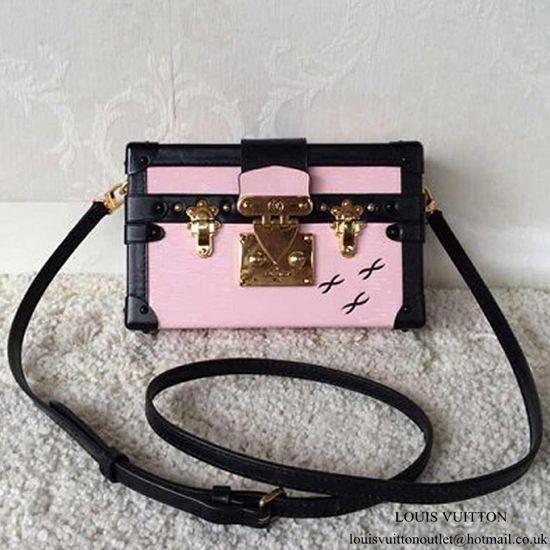 Louis Vuitton M50385 Petite Malle Crossbody Bag Epi Leather