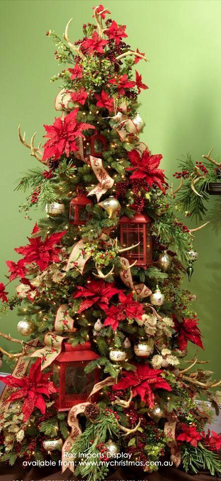 Christmas Tree Christmas Decorating Pinterest