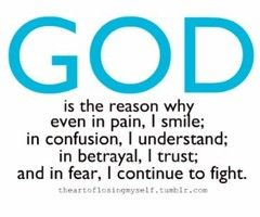 #god is the reason