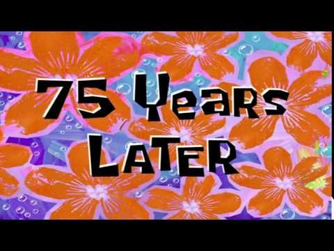 75 Years Later Spongebob Time Card 83 Youtube Spongebob Time Cards Spongebob Spongebob Funny