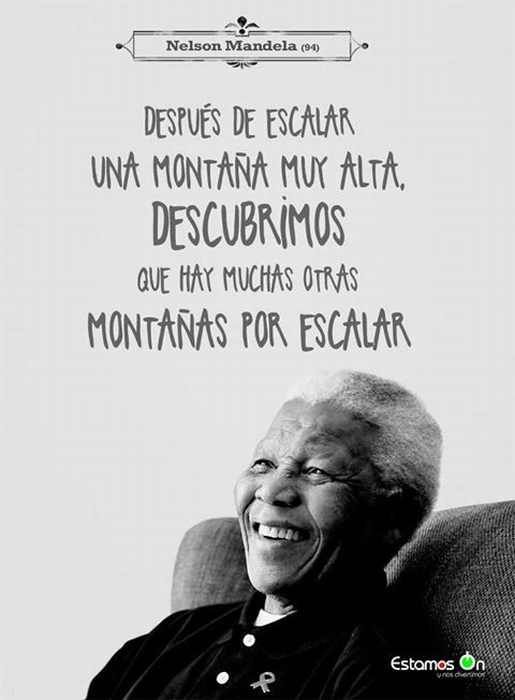 70 Frases De Nelson Mandela Sobre La Vida La Paz Y La Igualdad Nelson Mandela Best Quotes Ever Mandela