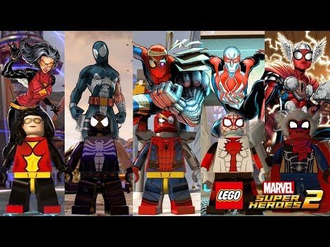 How To Get All Characters In Lego Marvel Superheroes 2