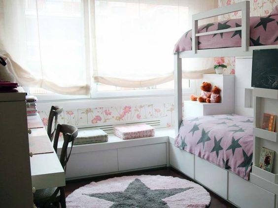 Almas gemelas: cómo decorar un cuarto compartido