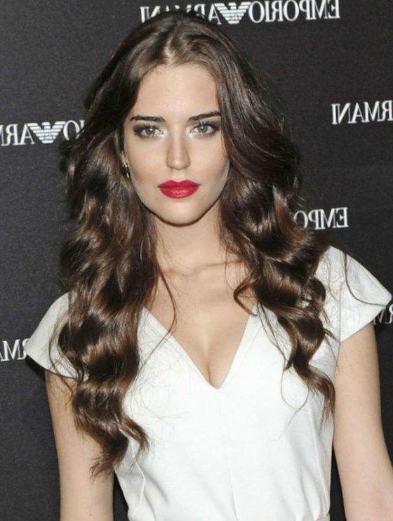 Ondas Al Agua Pelo Largo Trendypeinados Trendy2019 Hair Styles Hairstyle Hair