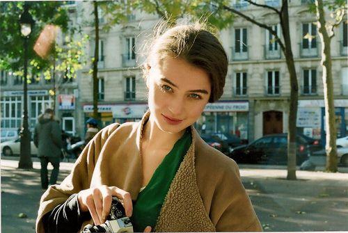 girl and vintage resmi
