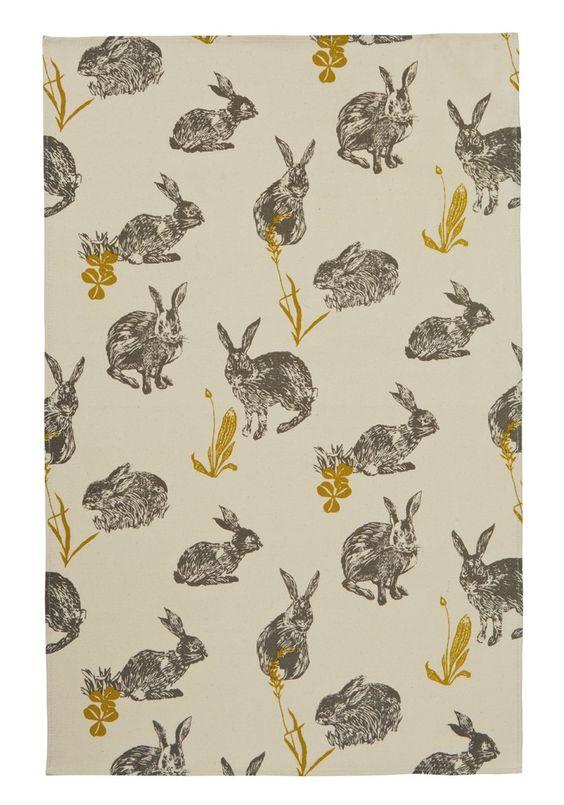 rabbit, repeat, pattern, design, nature, print, colour