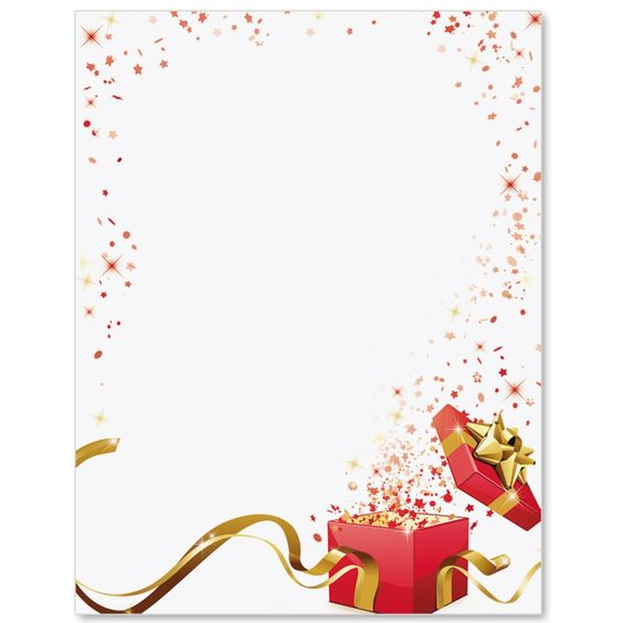 Holiday Wishes Letter Paper  Idea Art  Julramar  Christmas