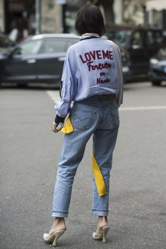 Milan Fashion Week,Gilda Ambrosio denim: