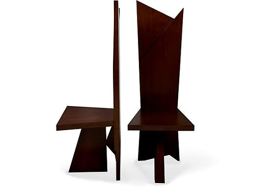 Cuffhome Origami Occasional Chairs, Pair on OneKingsLane.com