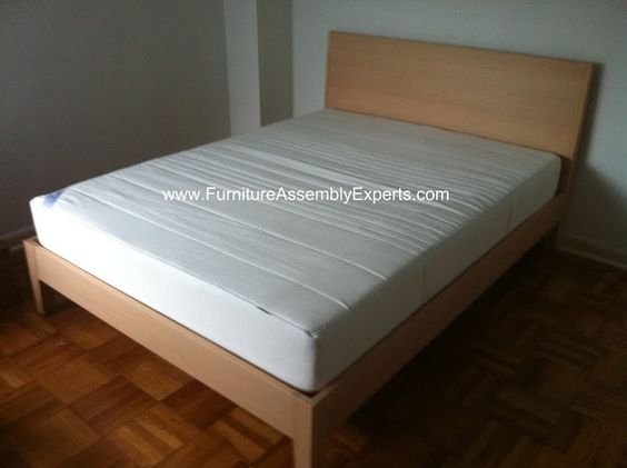 Ikea nordli bed frames assembled in baltimore md by for Will ikea assemble furniture
