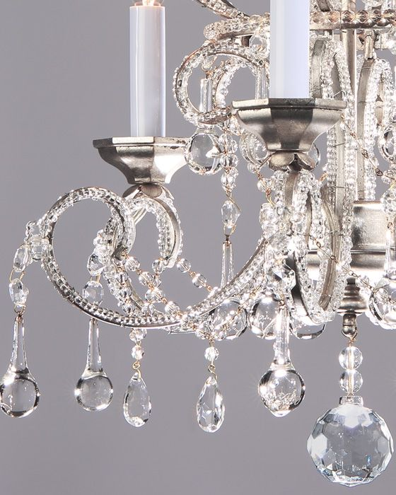 Crystal Chandeliers Small Crystal Chandelier On A Hand